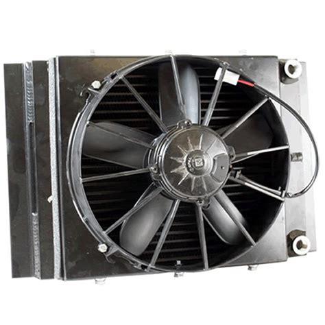 fluid cooler with fan griffin radiators cxu 00001 road fluid cooler fan kit