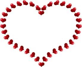 onlinelabels clip art red heart shaped border with