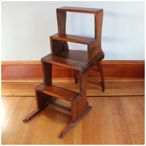 Kitchen Chair Step Stool by F3315 Step Stool Chair Bogart Bremmer Bradley Antiques