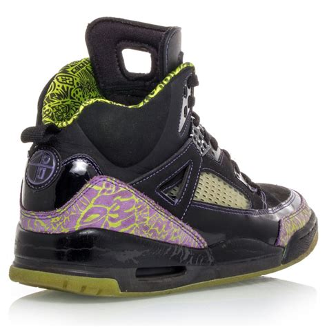 green basketball shoes air spizike mens basketball shoes black green