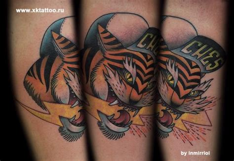 tattoo tiger new school arm new school tiger tattoo by xk tattoo