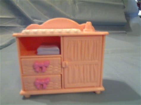 Fisher Price Changing Table Fisher Price Loving Family Doll House Dresser Baby Changing Table Dollhouse Ebay