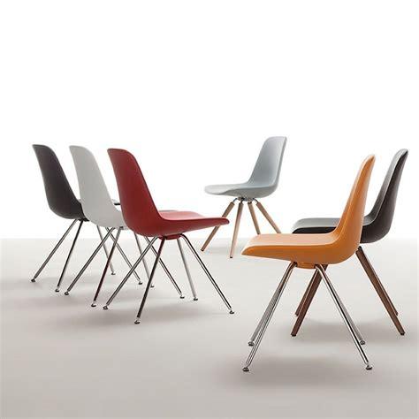 tonon sedie step steel legs sedia design di tonon in metallo e