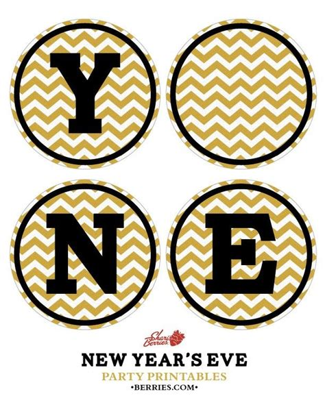 printable new years eve banner diy printable happy new year banner celebrate the new