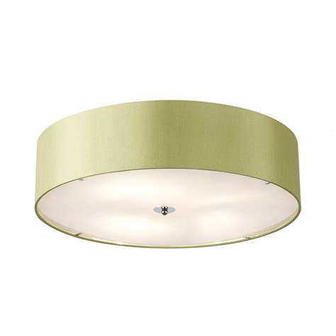 Endon Ceiling Lights Franco 60gr Green Ceiling Light Endon 3 Light Franco Flush Ceiling Light