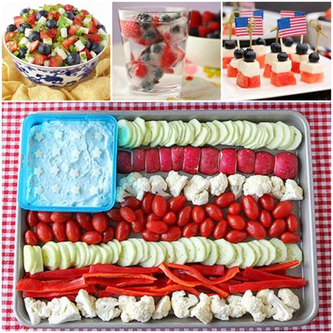 in july food ideas 18 patriotic food ideas for your 4th of july cookout