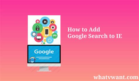 Add Search To Address Bar Tip To Add Search To Ie Address Bar Whatvwant