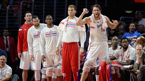 clippers bench streaking los angeles clippers trying to keep pace in west