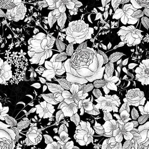 black and white floral wallpaper b q b q black and white wallpaper wallpaper directory