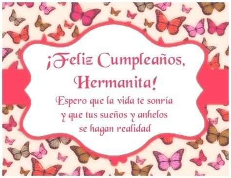 imagenes cumpleaños hermana para facebook feliz cumplea 241 os hermana imagen con frese para compartir