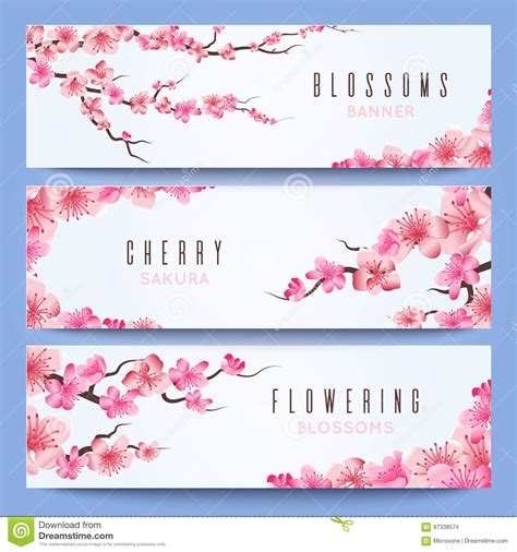 japanese birthday card templates wedding banners template with japan cherry