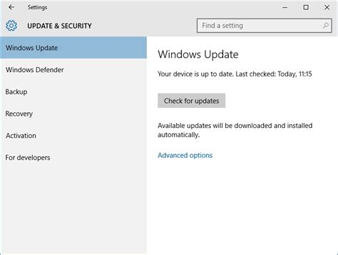 tutorial windows 10 update windows 10 update settings and manually updating top