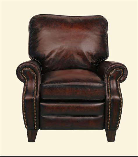 Vintage Leather Recliner by Vintage Leather Recliner Brown Vintage Leather Recliner