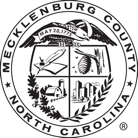 Mecklenburg County Search File Seal Of Mecklenburg County Carolina Svg
