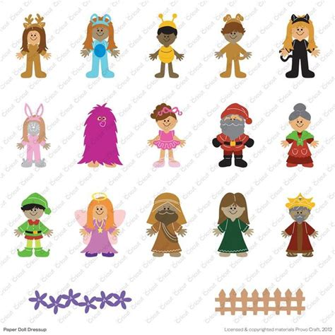 17 best images about cricut paperdolls on