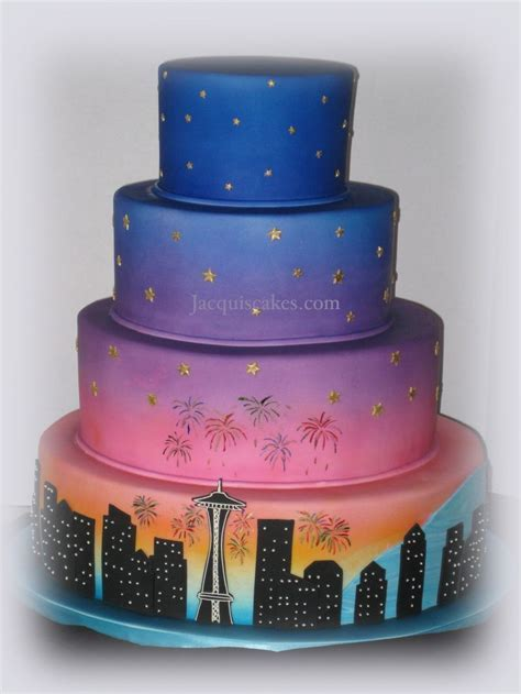 9 Top Seattle Cakes for Emerald City Inspiration   Seattle