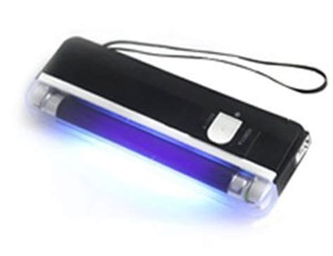 Battery Money Detector 2in1 With Torch luckystone handheld uv light torch with led flashlight portable money detector