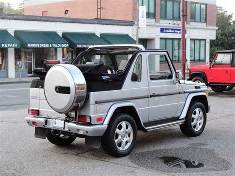 2005 mercedes g500 purchase used 2005 mercedes g500 gwagen cabriolet in