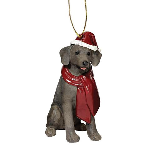 weimaraner christmas ornaments at doggiechecks com