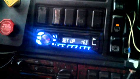 volvo 10 wheeler truck 1998 volvo 18 wheeler truck radio install final youtube