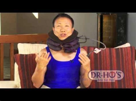 dr ho neck comforter dr ho s neck comforter introduction youtube