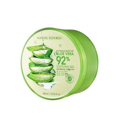 Naturale Republic Aloevera New Gel Korea naturerepublic soothing and moisture aloe vera 92