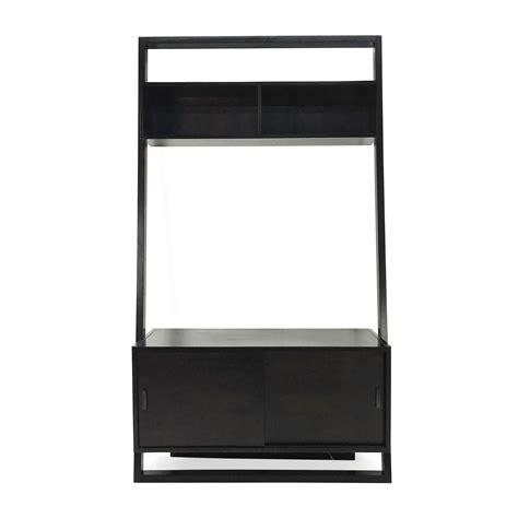 crate and barrel media cabinet 49 off bruna bruna modern classic blue lacquer
