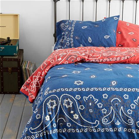 red bandana comforter bandana duvet cover from urban outfitters epic wishlist
