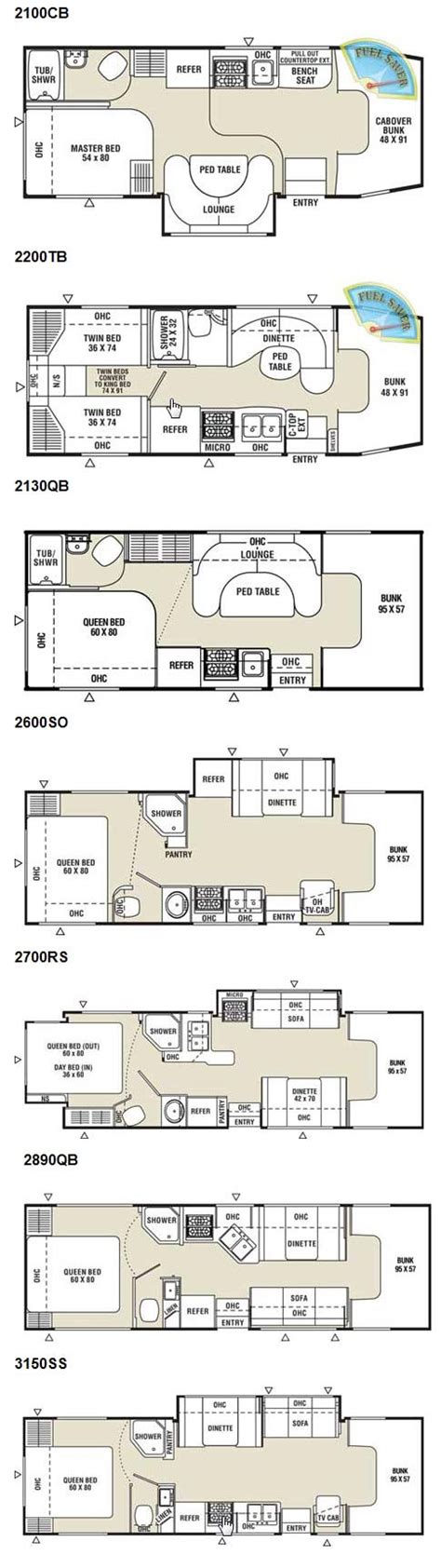 coachmen class c motorhome floor plans coachmen freelander class c motorhome floorplans