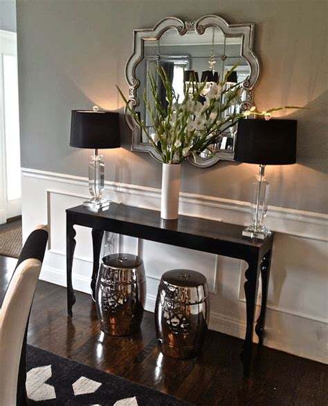 Hallway Table Decor Inspired Space Table Decorating The Builder S