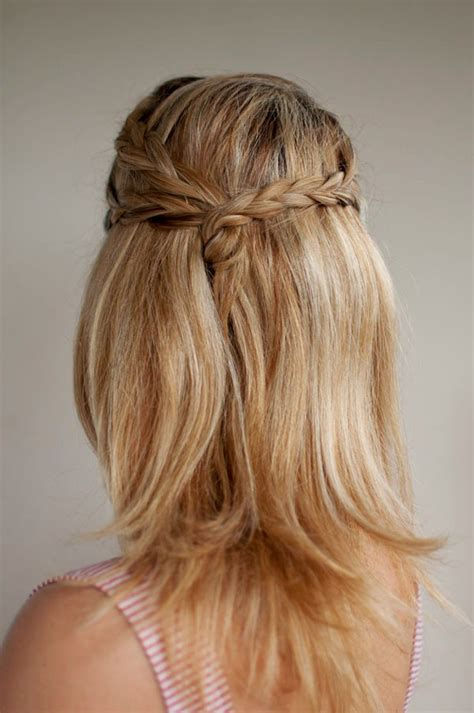 Do It Yourself Wedding Hairstyles Half Up by The Easiest Braid For A Complete Novice Fox In Flats