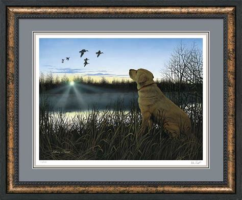 yellow lab prints framed country labs picture print art interior home decor art ebay yellow lab prints framed country labs picture print art