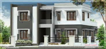 Flat Roof House Design by Wide Flat Roof 3 Bedroom Home Design Kerala Home Design