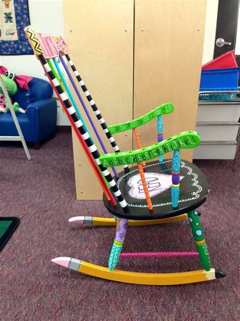 kindergarten rocking chair my canvas by ohcaitybugg 16 ideas to discover on