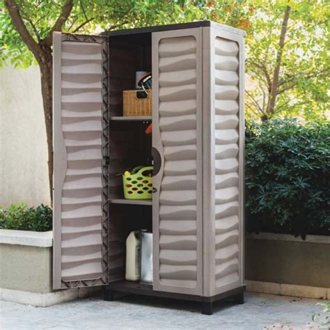 Outdoor Storage Cabinets With Doors 6ft Waterproof Lockable Garden Storage Cabinet Http Divulgamaisweb
