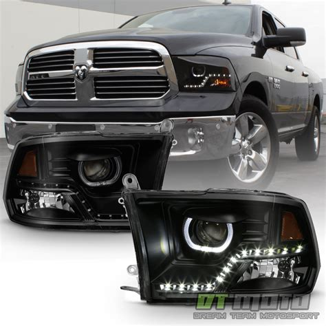 blacked out lights dodge ram 1500 black smoke 2009 2017 dodge ram 1500 2500 3500 smd led