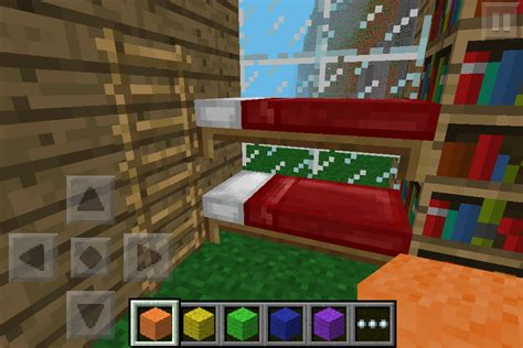 how to make a bed in minecraft pe guidecraft 187 bunk beds pe furniture