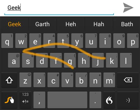 android swype keyboard 5 android keyboard replacements to help you type faster