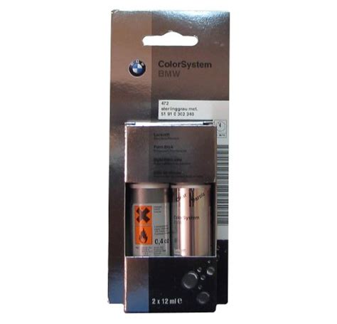 oils fluids bmw genuine sterling gray metallic touch up