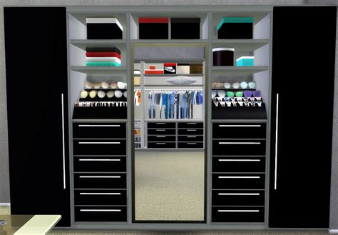 Sims 3 Closet by Nicol600 S Walk In Closet Recolor By Hypersimsitive
