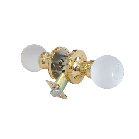 Touch Activated Kitchen Faucets krystal touch of ny smiley face crystal brass privacy door