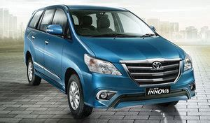 On Road Price Toyota Innova Toyota Innova Vx Diesel Price Features Reviews In 2016 India