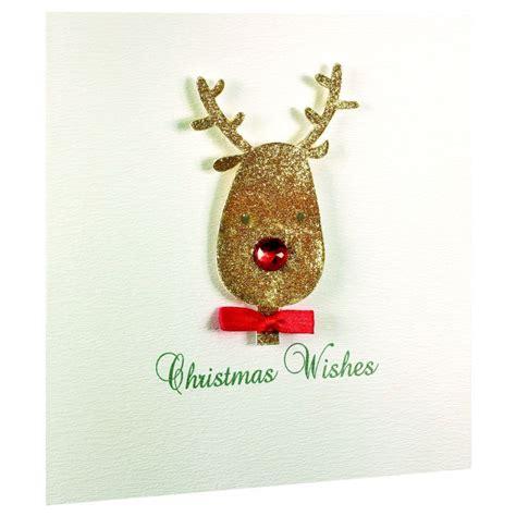 Handmade Reindeer Cards - 5 handmade cards reindeer buy at