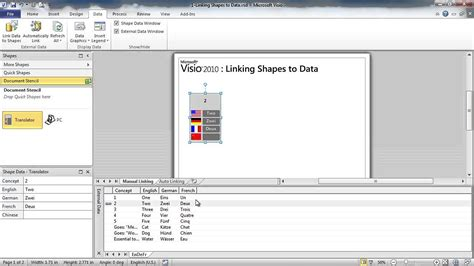 visio link visio link data to shapes 28 images team flow chart