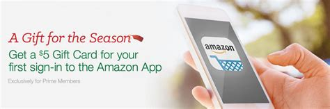 Free Amazon Gift Card Apps - free 5 amazon gift card for prime members