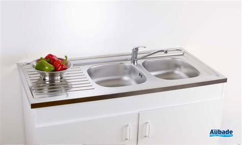 Aubade Evier by Evier Inox S 233 Lection Corail Espace Aubade