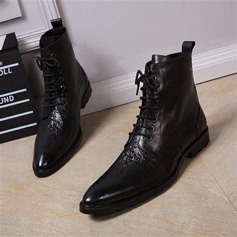 mens dress boots high heels choudory italian dress boots pointed toe high