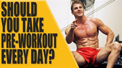 supplement you should take everyday how should you take pre workout sport fatare