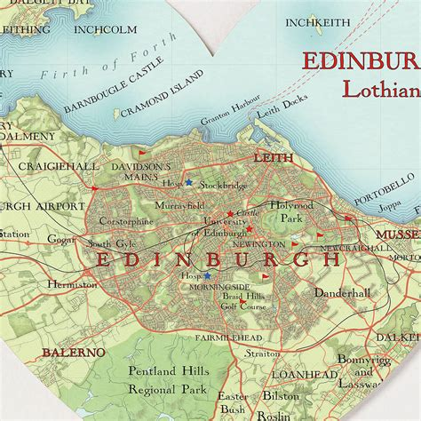 printable maps edinburgh image gallery edinburgh map