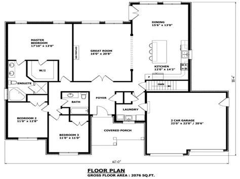 Bungalow Style Floor Plans by Bungalow Floor Plans Canada Craftsman Bungalow House Plans